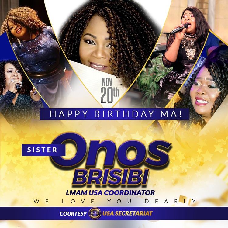 Happy Birthday dearest Sis Onos.