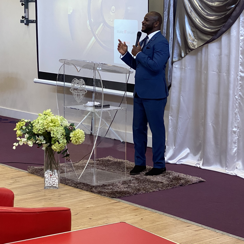 Happy Birthday Pastor. You are