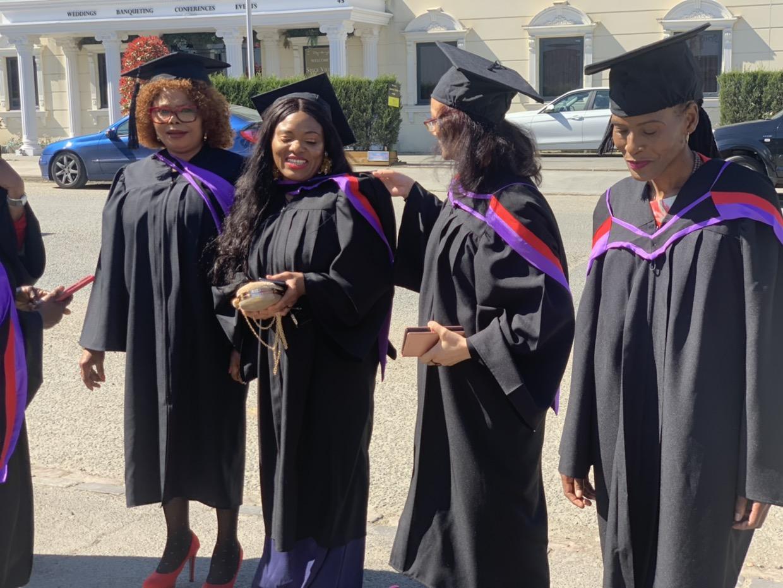 CE Slough Graduates at the