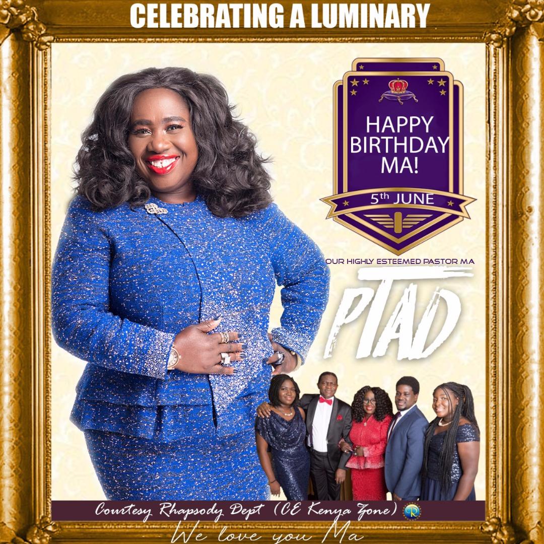 Happy Birthday Pastor Ma, I