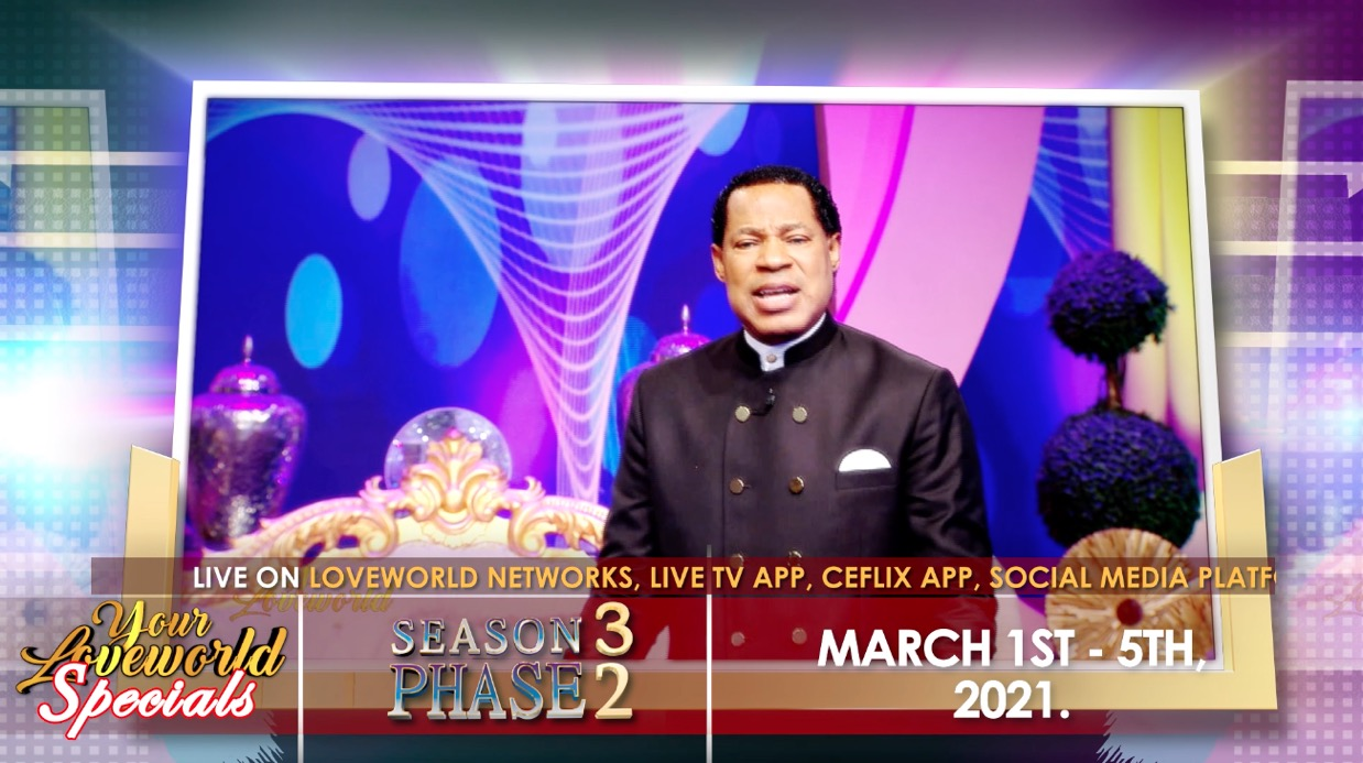 Your Loveworld Specials with Pastor