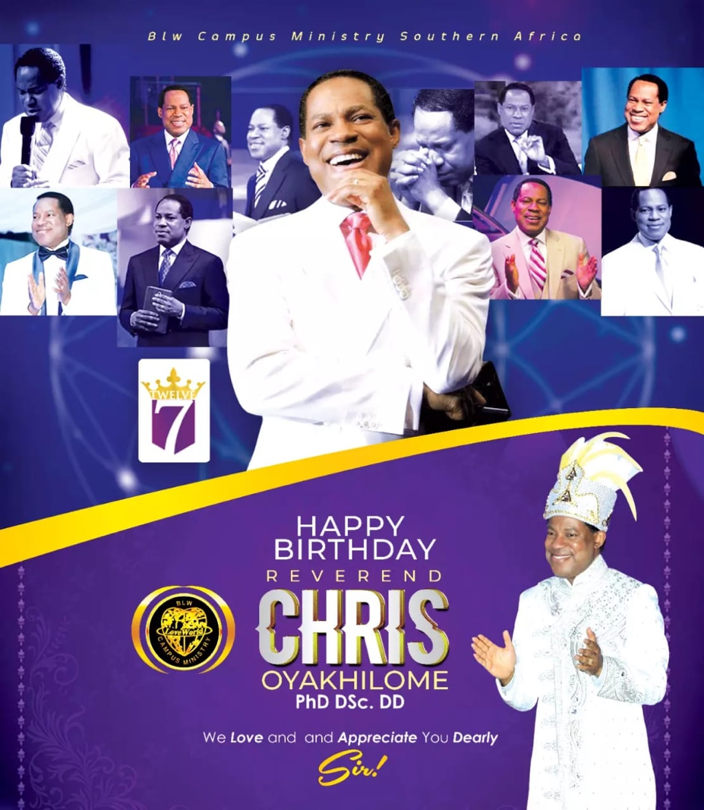 Pastor Chris is the express