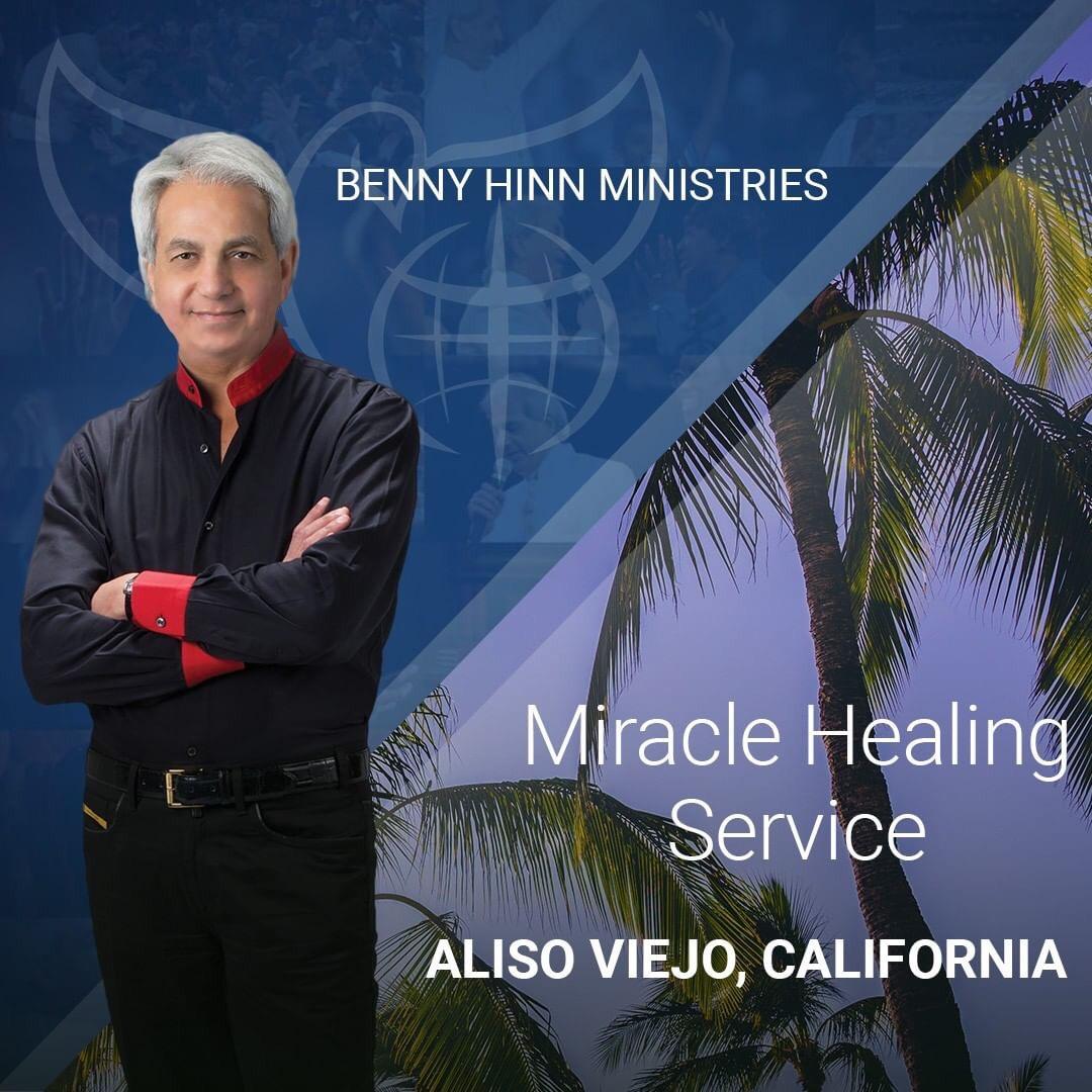 Pastor Benny Hinn will host