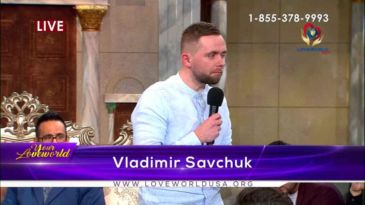 #HappeningNow Join Pastor Vladimir Savchuk