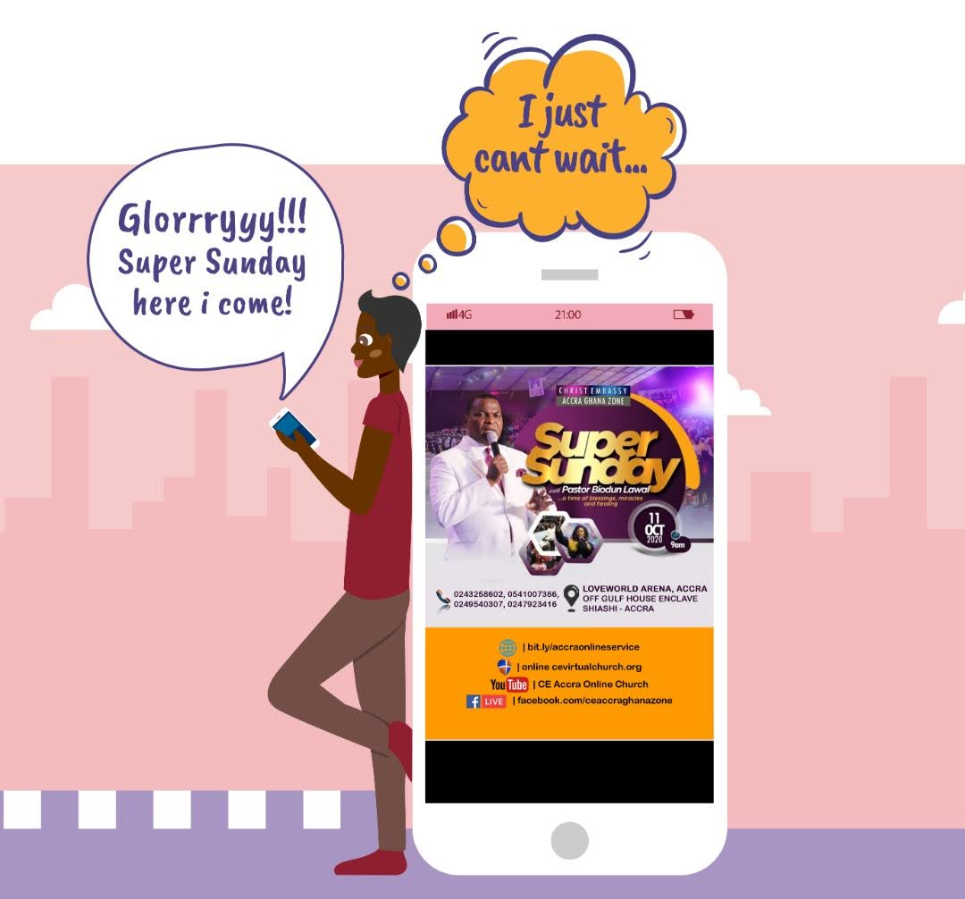 #CeAccraGhanaZone #SuperSundayAccra
