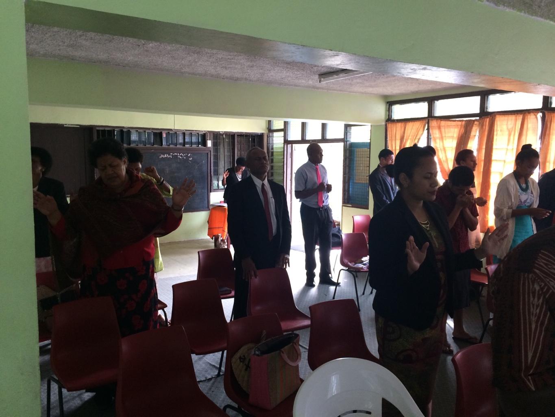The opening of #ChristEmbassyNabua on