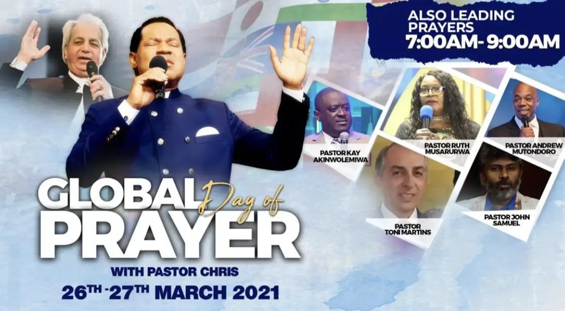 🌏 STILL PRAYING: AT THE
