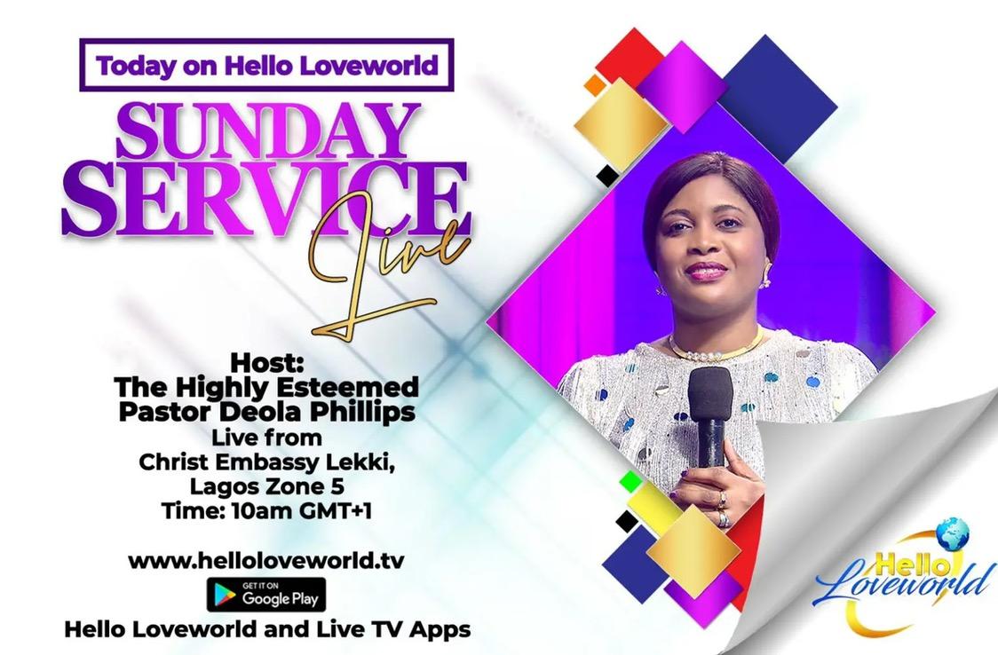 🌐 UP NEXT: SUNDAY SERVICE