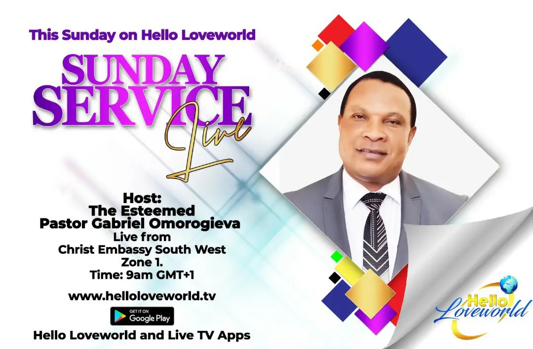 COMING UP: SUNDAY SERVICE LIVE