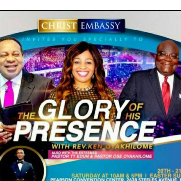 Glory of his presence!!!! Are