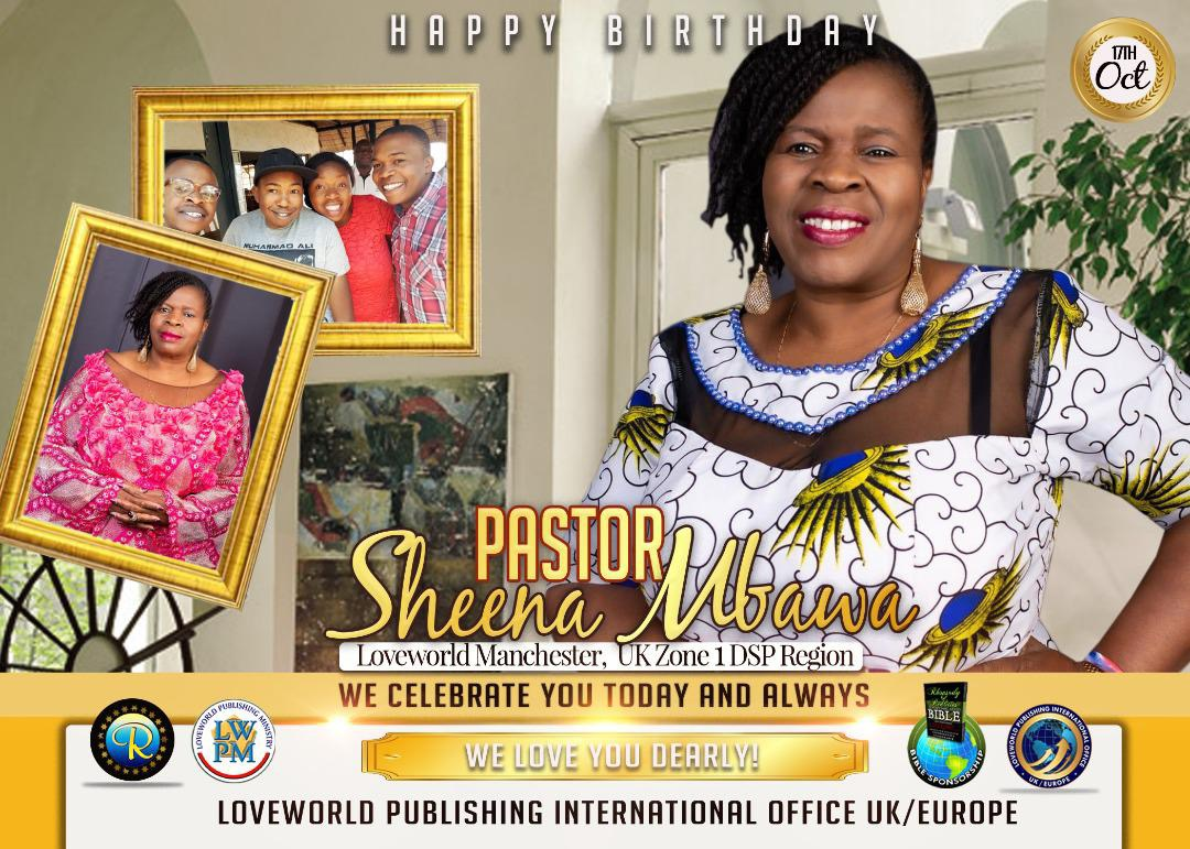 Happy Birthday to my Pastor
