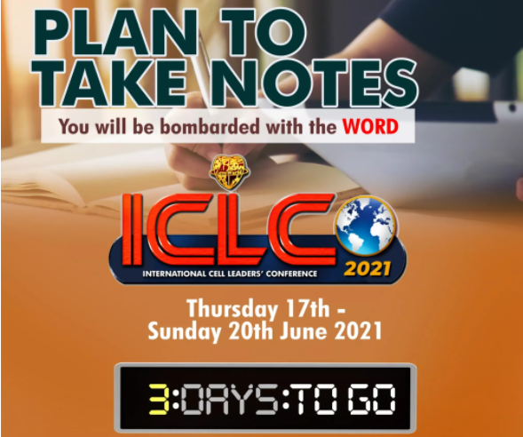 ICLC only 3 DAYS TO