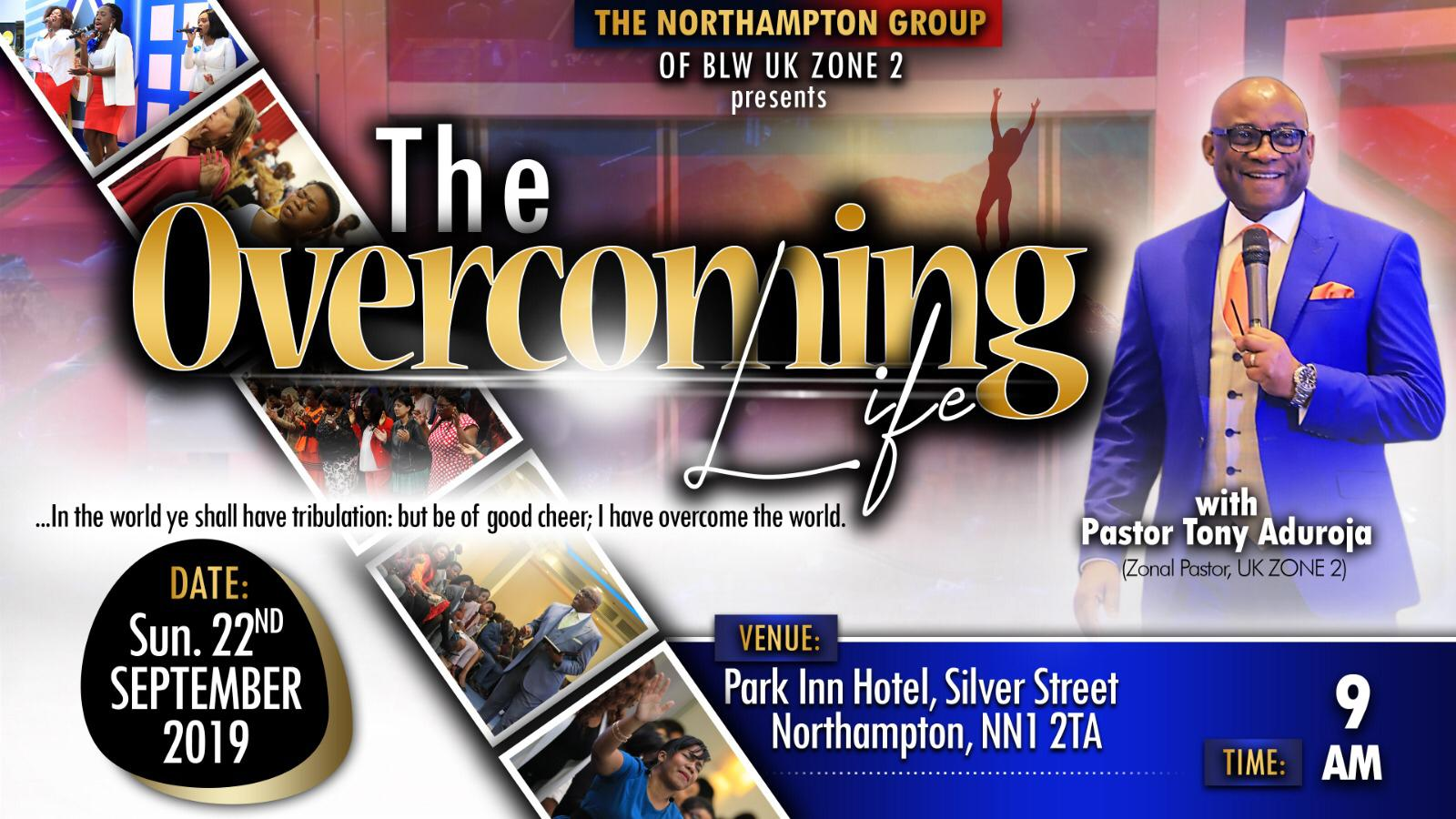 #UKZone2 #LoveWorldWellingborough #TheOvercomingLi