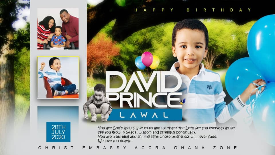 the Birthday of Our Prince....