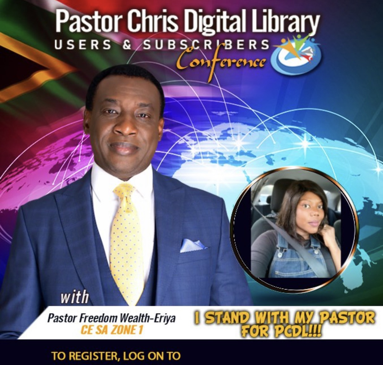 We are ready!!! Pastor Chris