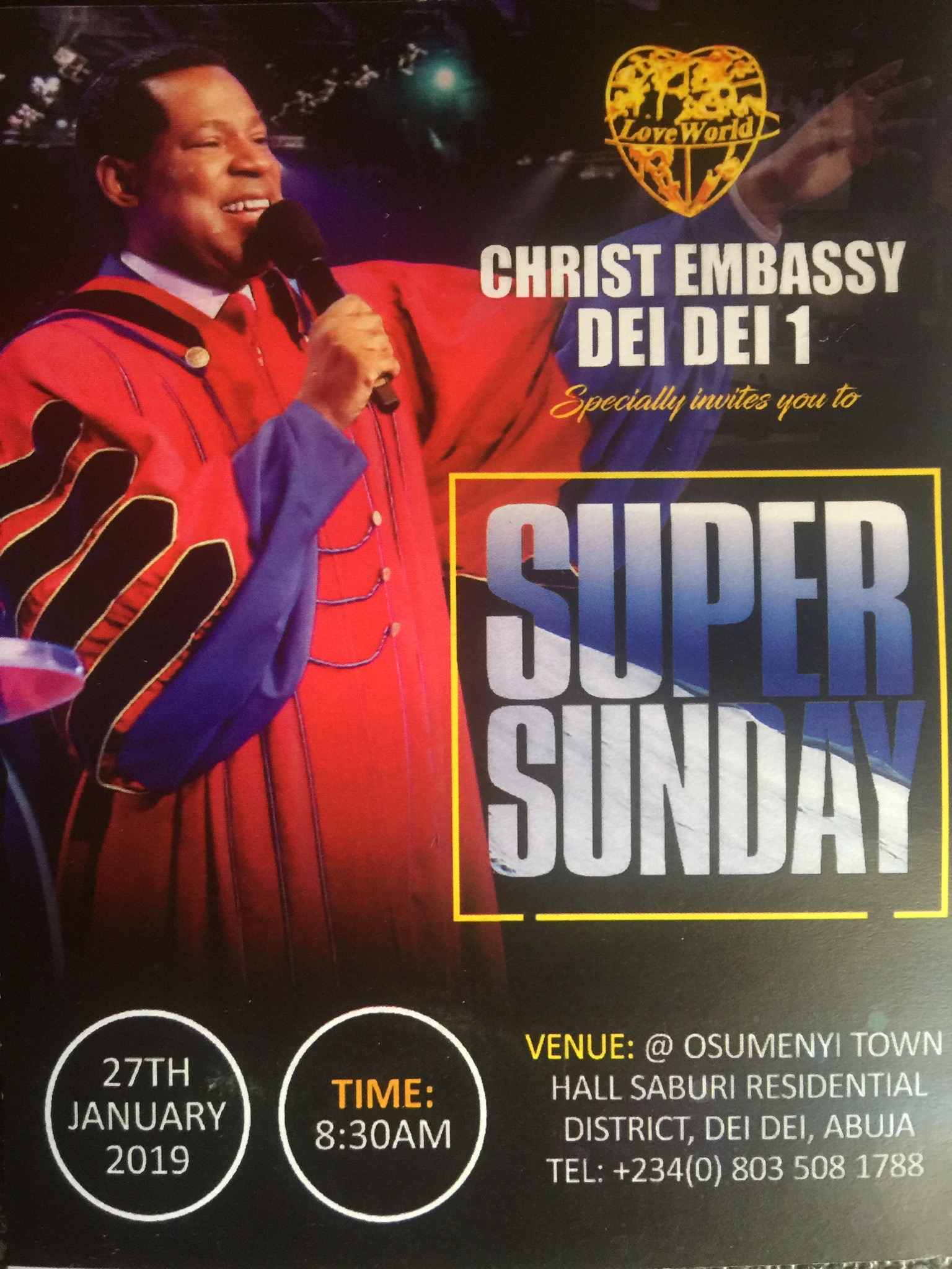 Happening live Tomorrow @ Christ