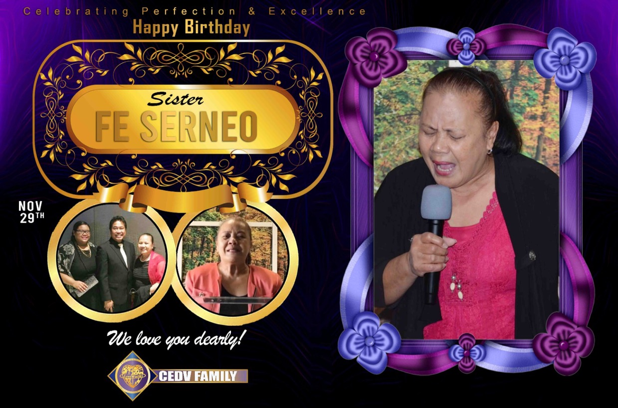 Happy Birthday sis Fe of
