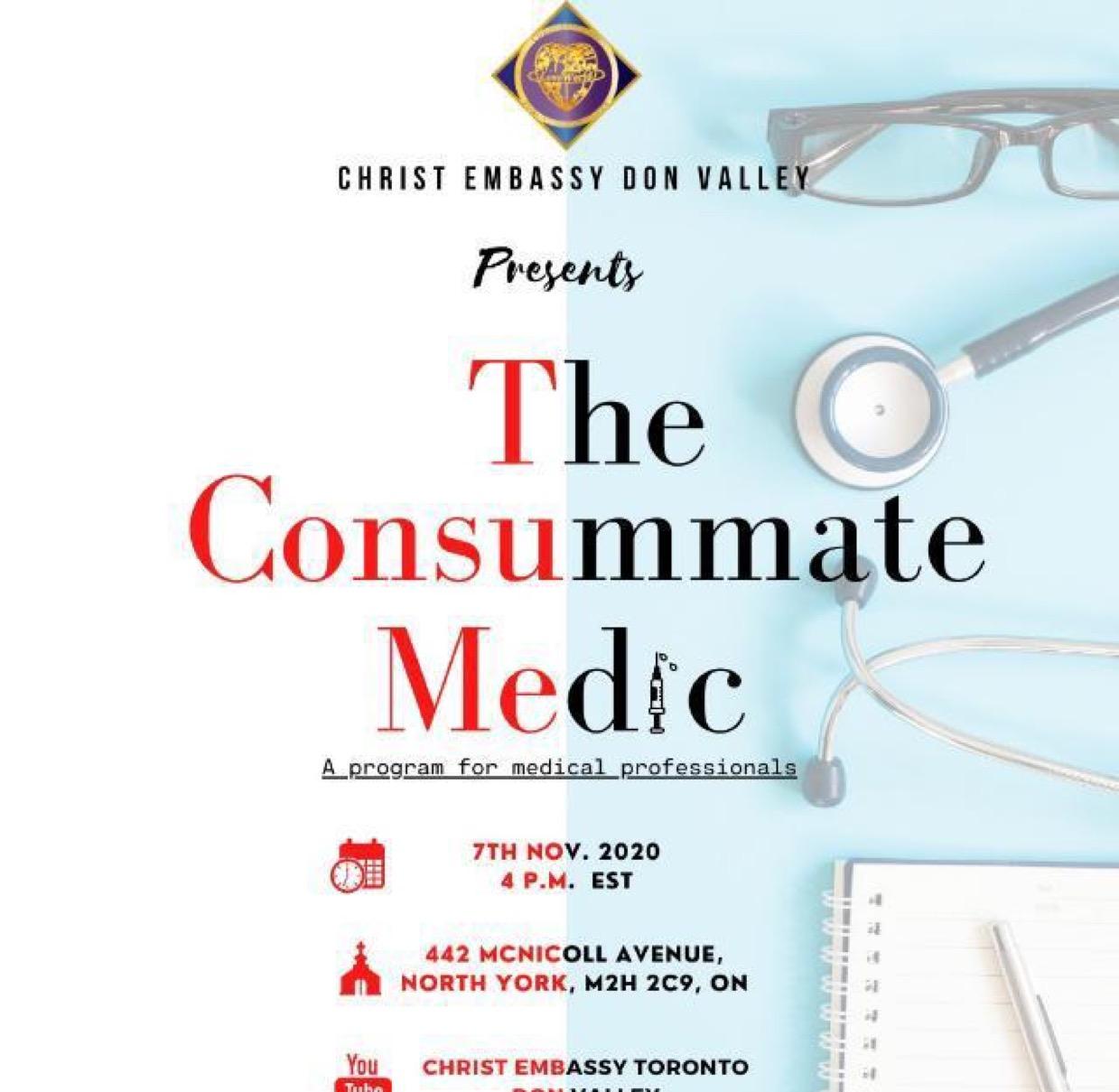 THE CONSUMMATE MEDIC...a seminar that