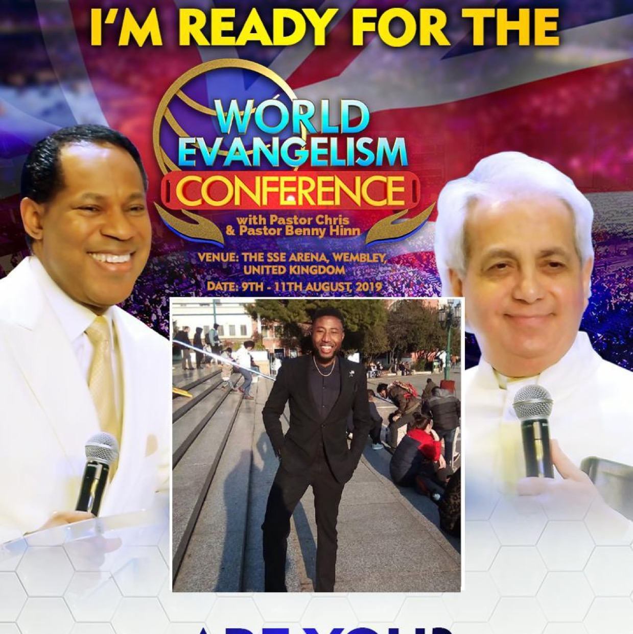 Pastor Chris will be in