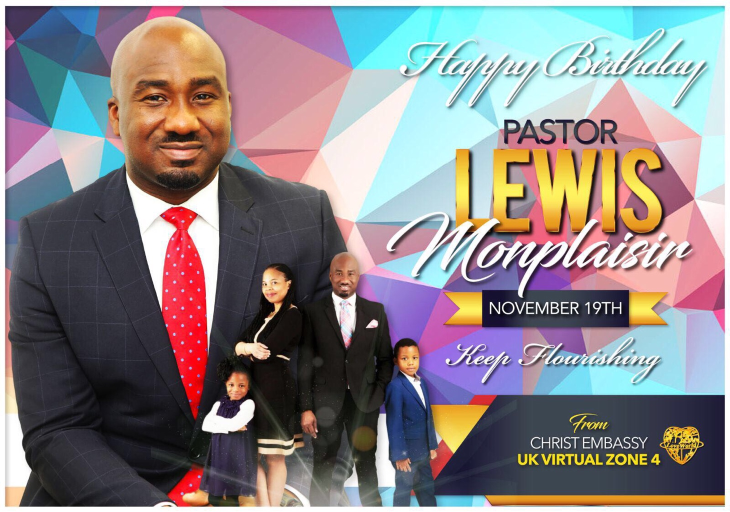 Still celebrating our esteemed Pastor