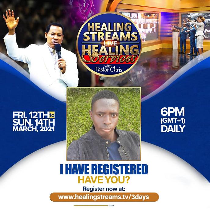 Register Healing Streams Live Healing