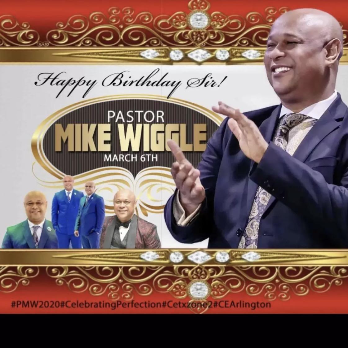 Happy birthday Pastor. Our Esteemed