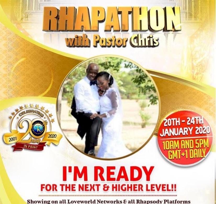 Global rhapathon ,am ready