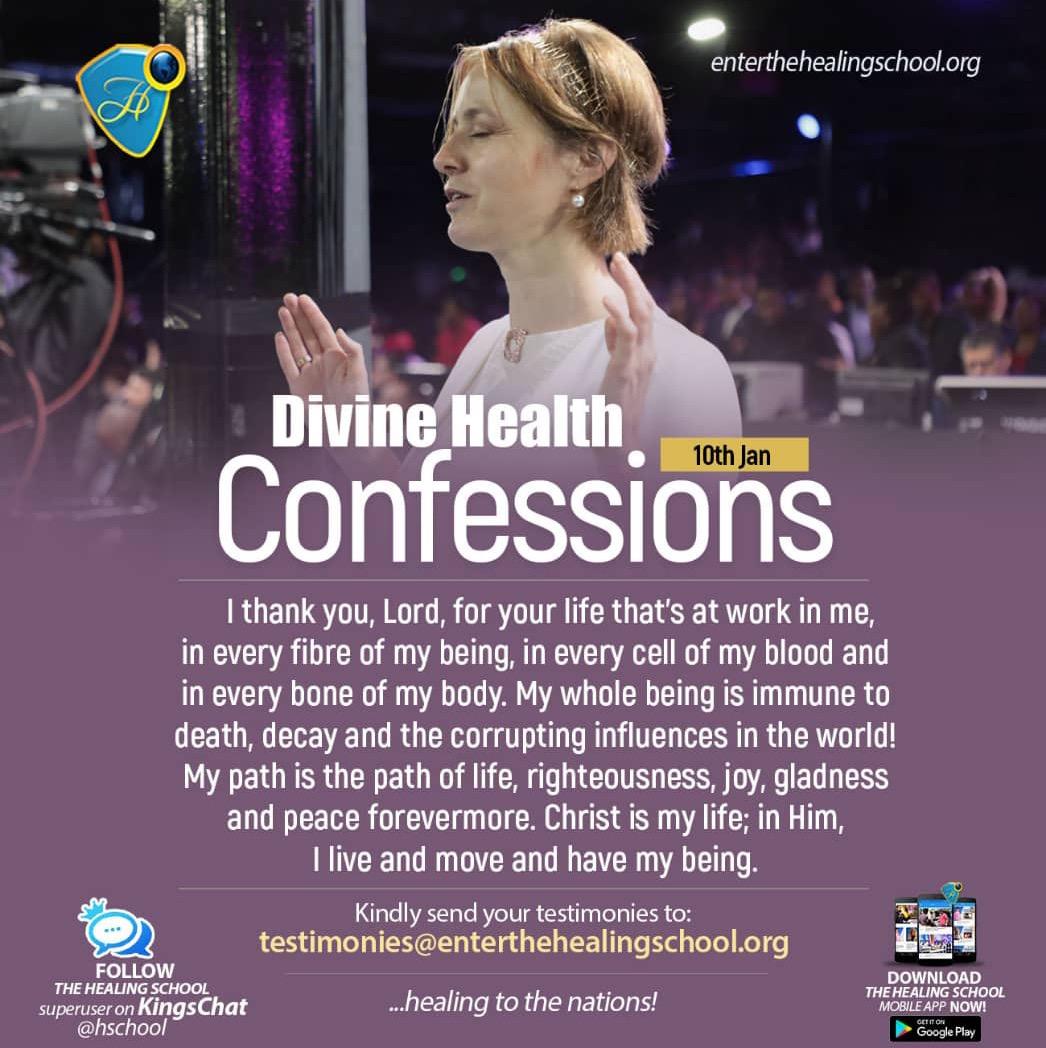 #DHConfessions #healingtothenations #healingscho