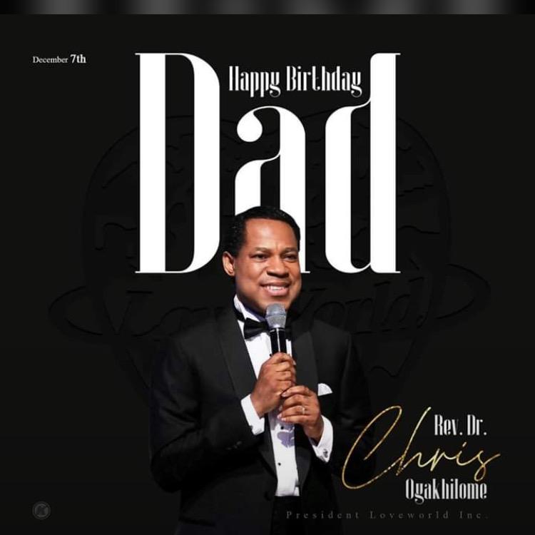 Happy birthday Pastor Sir