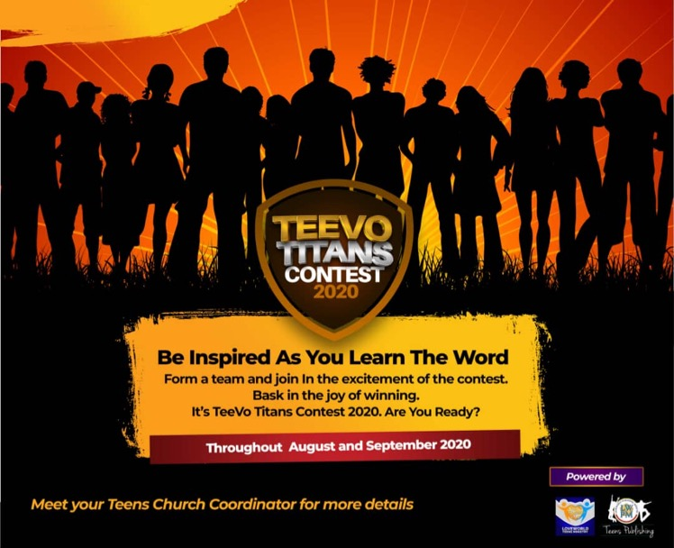 It's All about Jesus #Teevotitanscontest