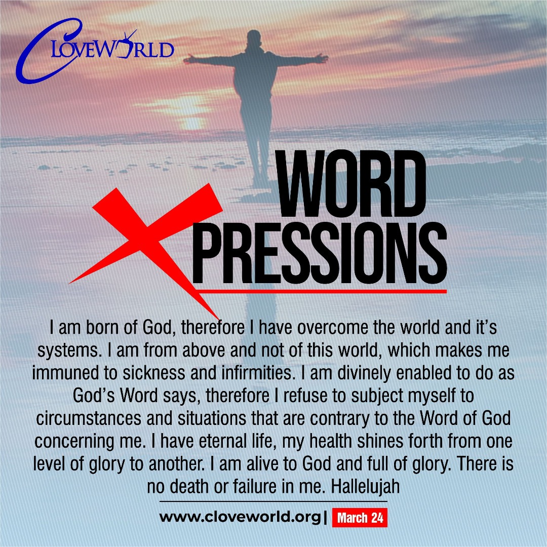 WORD EXPRESSIONS 24TH MARCH Word