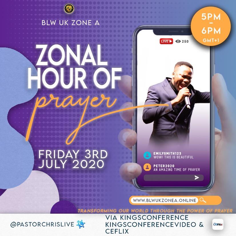 Answered Prayers #ZonalhourofPrayer #blwukzonea