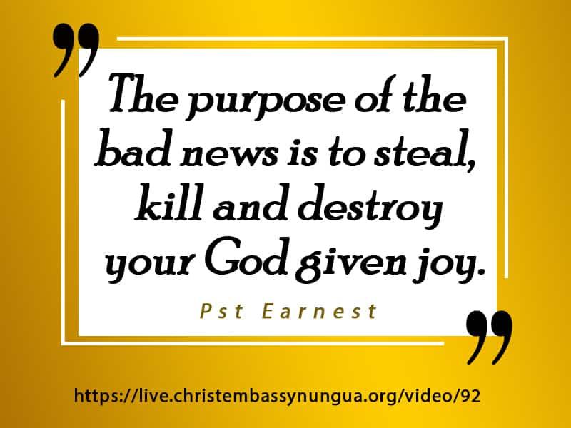 Share the gospel in short