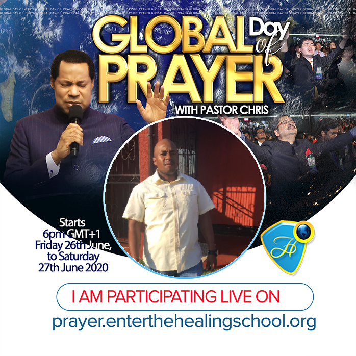 Streaming LIVE on prayer.enterthehealingschool.org