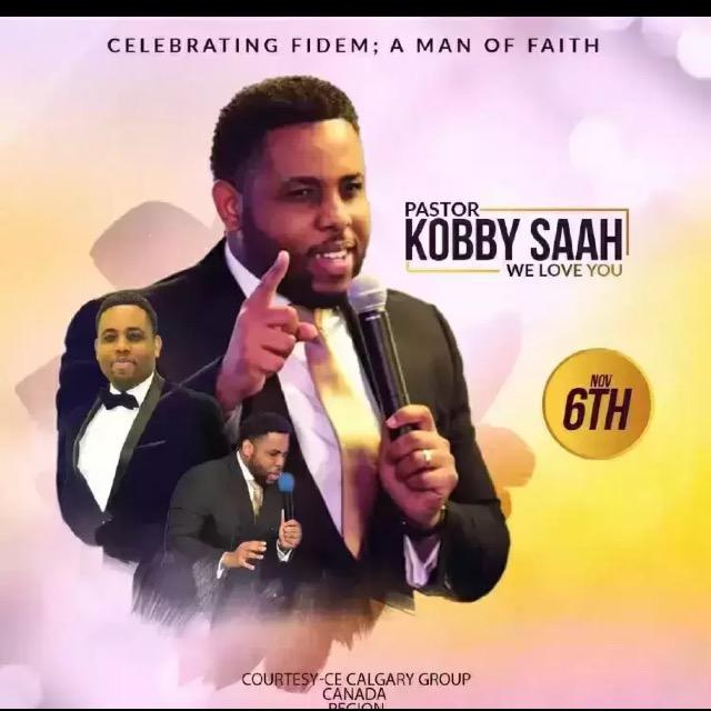 Happy Birthday Pastor Kobby! We