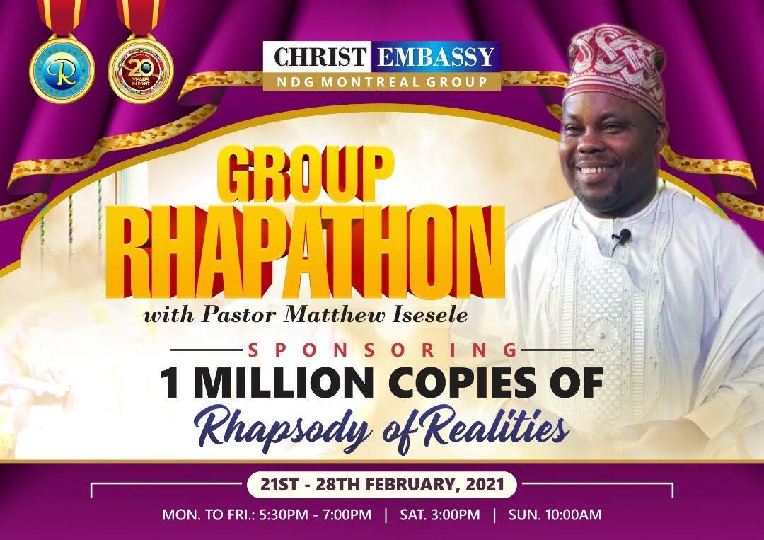 It's Day 2 of Rhapathon