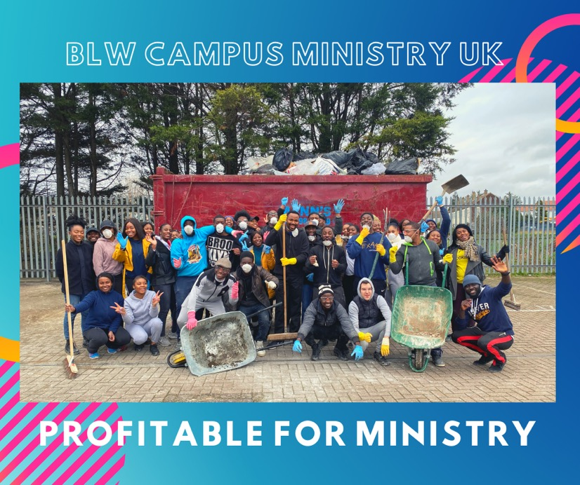 #Profitableforministry Are you? #blwuk #campusmini