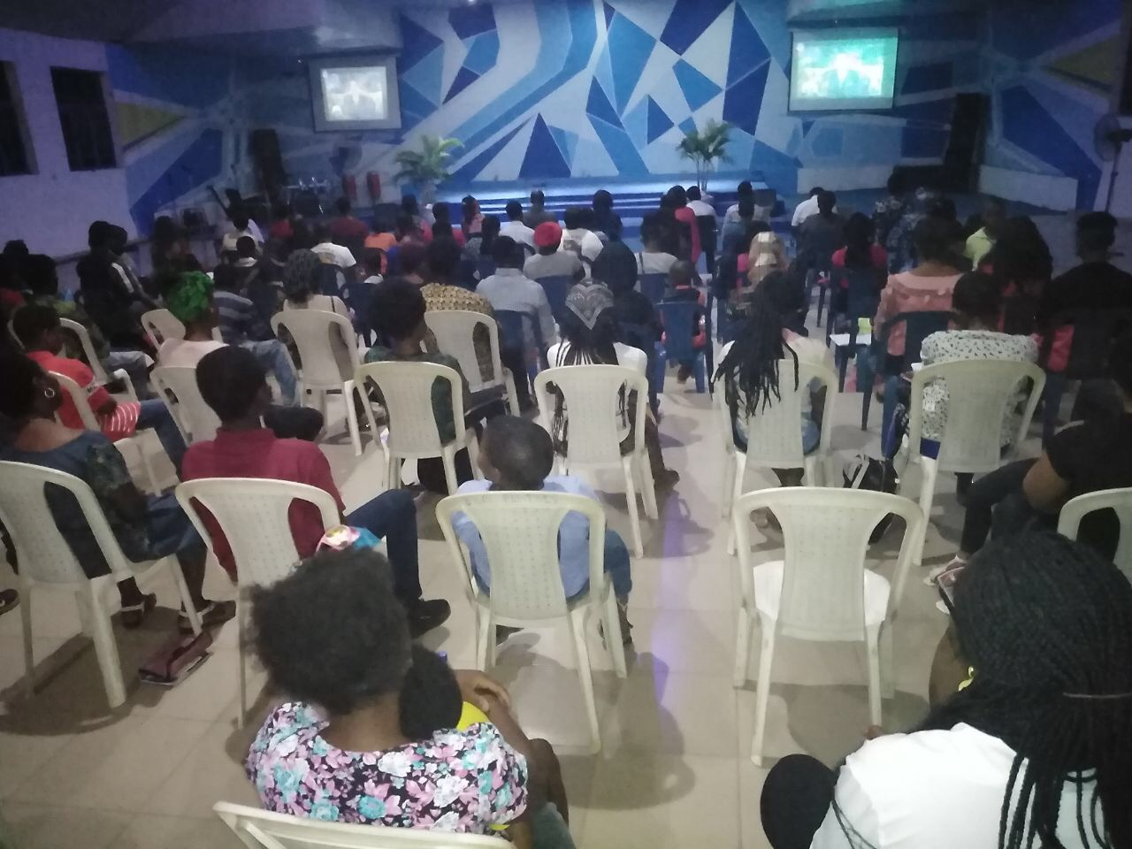CE Ilorin Central Church actively