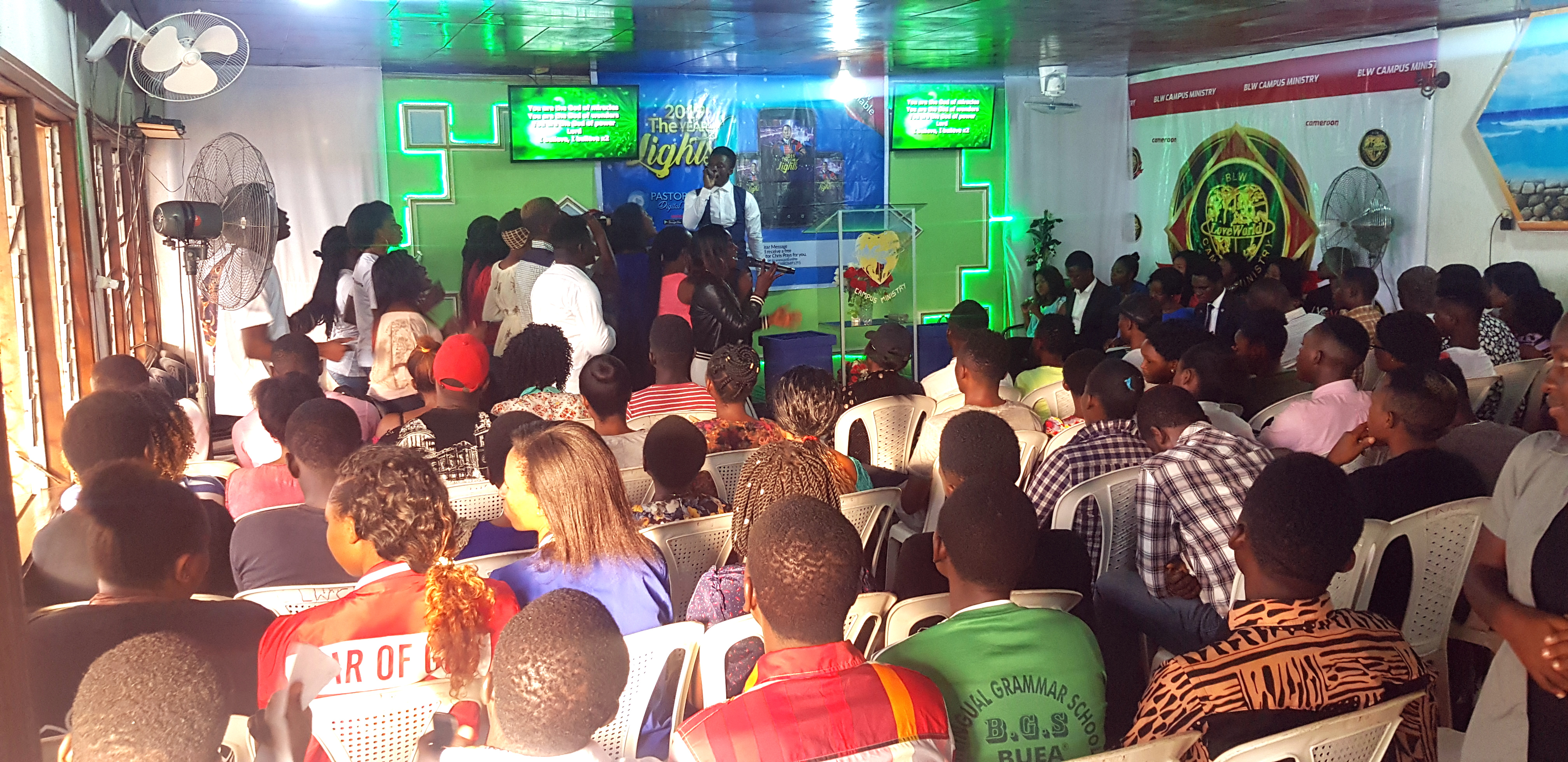 Glorious Ministration from Loveworld University