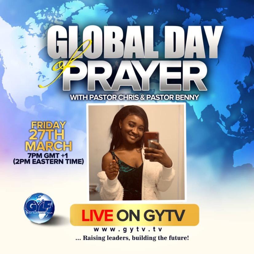 I'm ready to pray #GYLF
