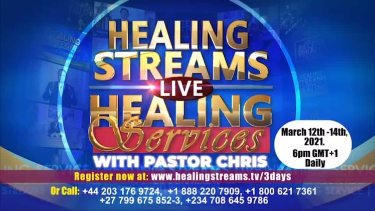 THE LARGEST LIVE HEALING SERVICES