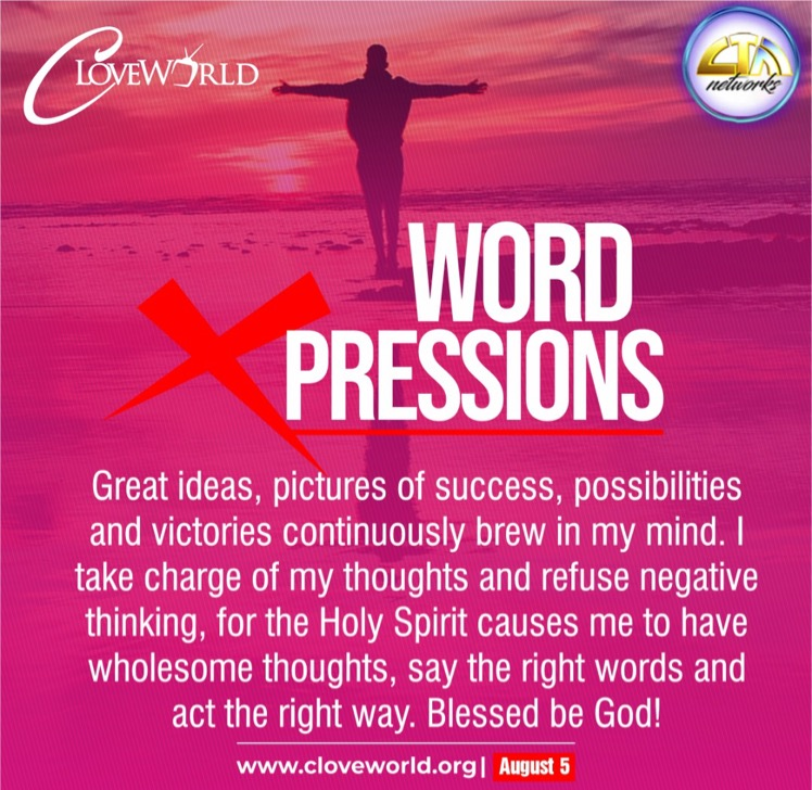 *WORD XPRESSIONS AUGUST 5* http://cloveworld.org/