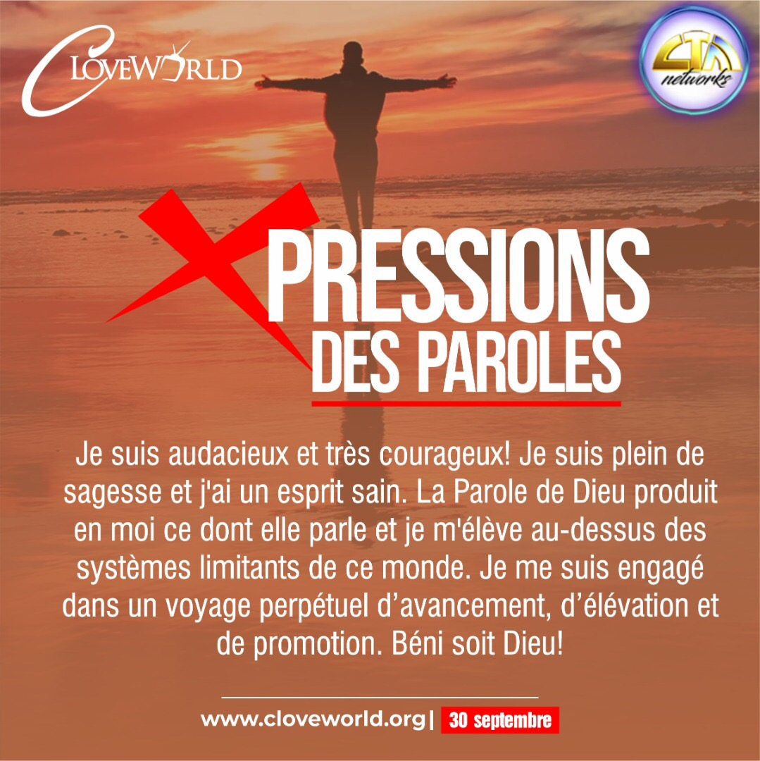WORD XPRESSIONS SEPTEMBER 30* #prayingwithpastorch