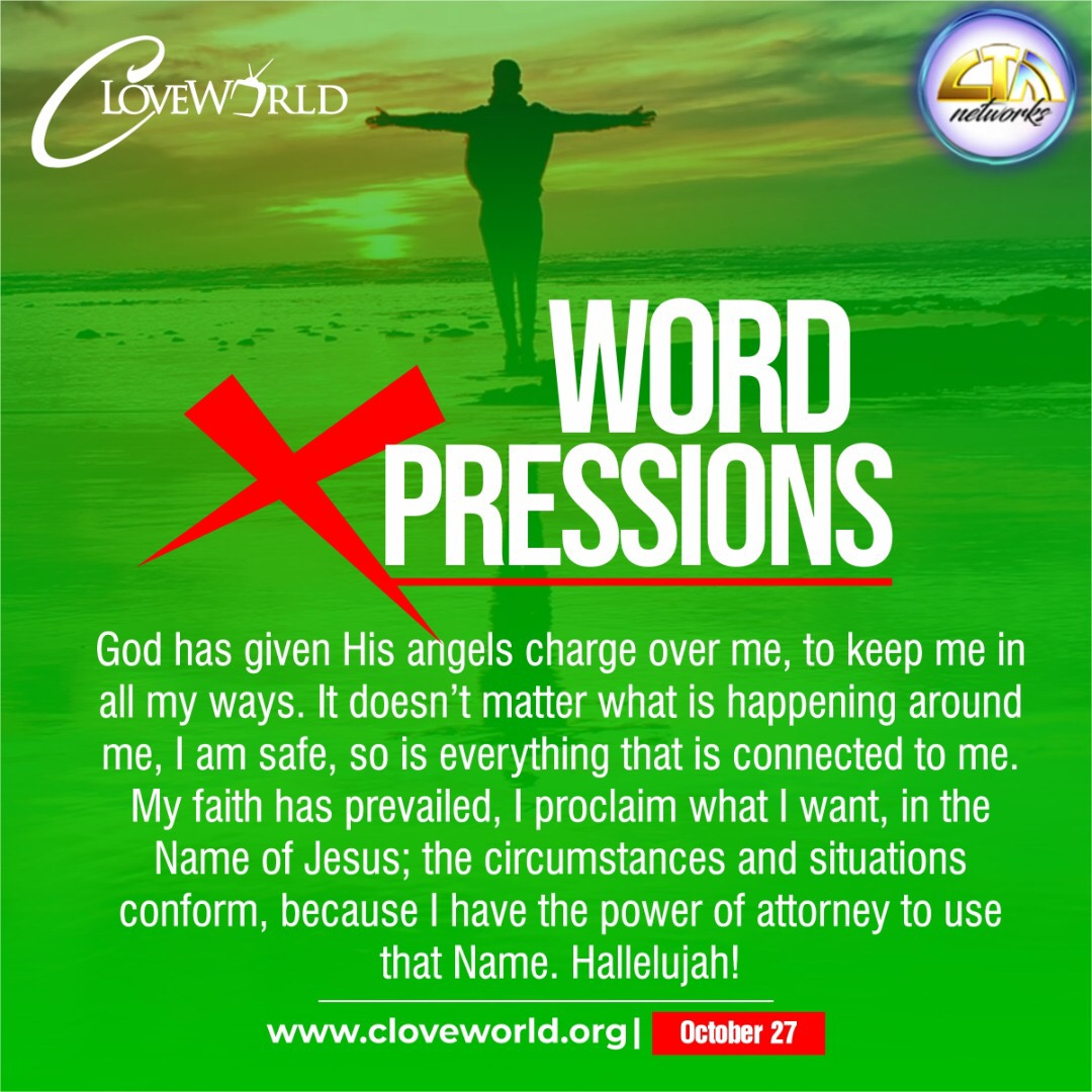 *WORD XPRESSIONS OCTOBER 27* http://cloveworld.or