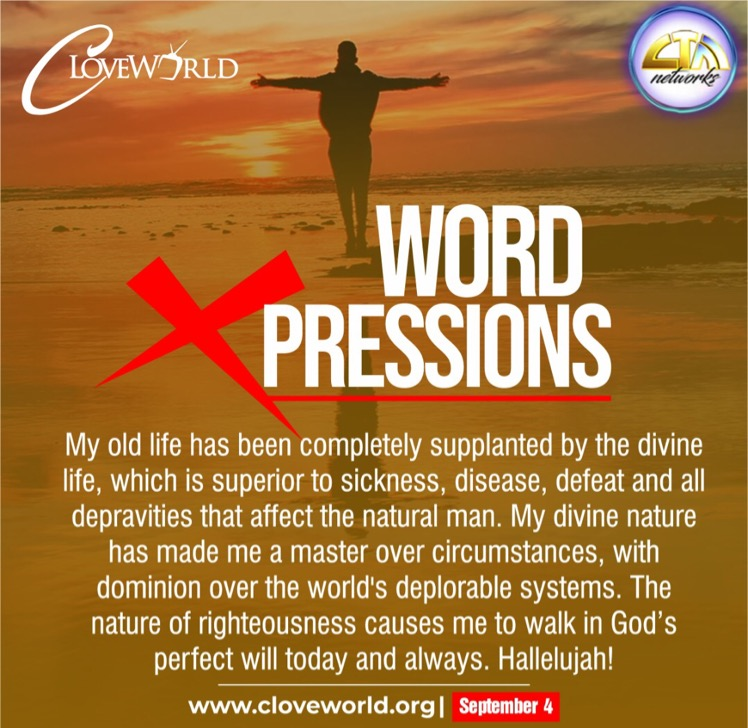 *WORD XPRESSIONS SEPTEMBER 4* #prayingwithpastorch