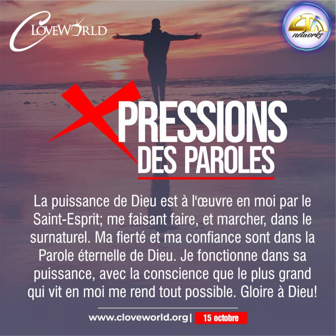 *WORD XPRESSIONS OCTOBER 15* #prayingwithpastorchr