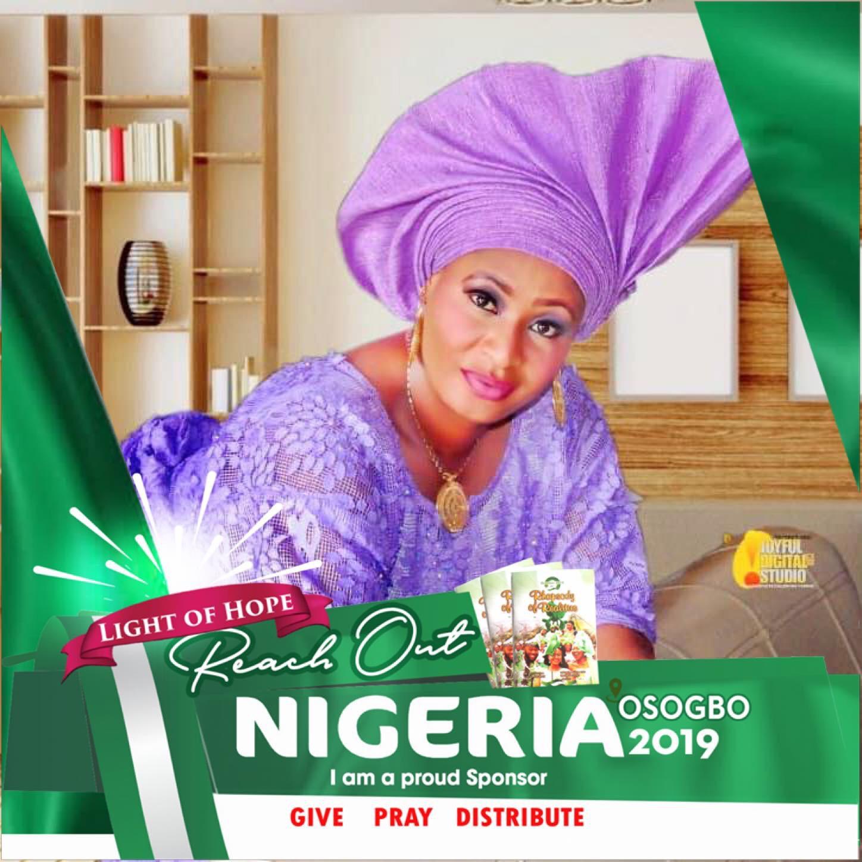 REACH OUT NIGERIA 2019. #REACH