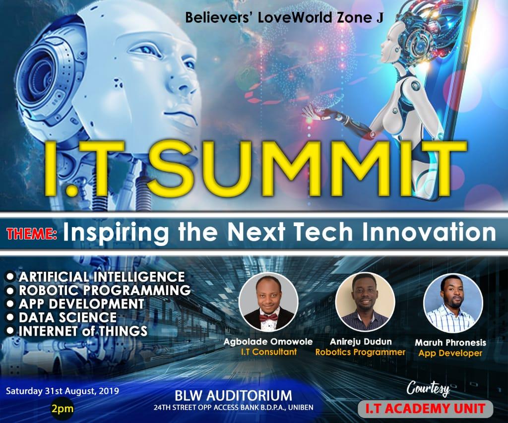 #itsummit #techinnovation #blwzonej