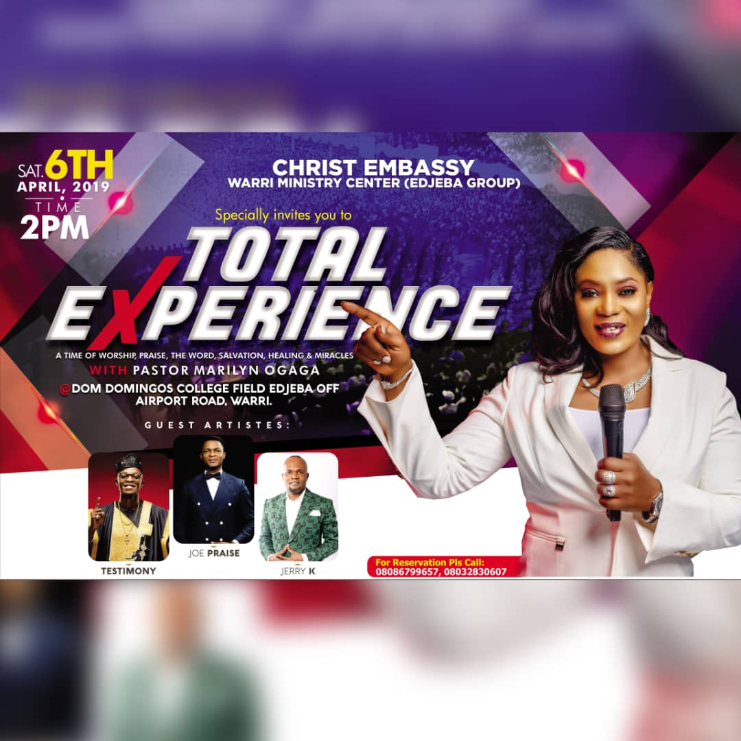 #TOTALEXPERIENCEWITHPSTMARILYN #EDJEBAGROUP #WARRI