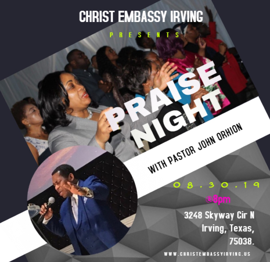 Praise Night with Pastor John